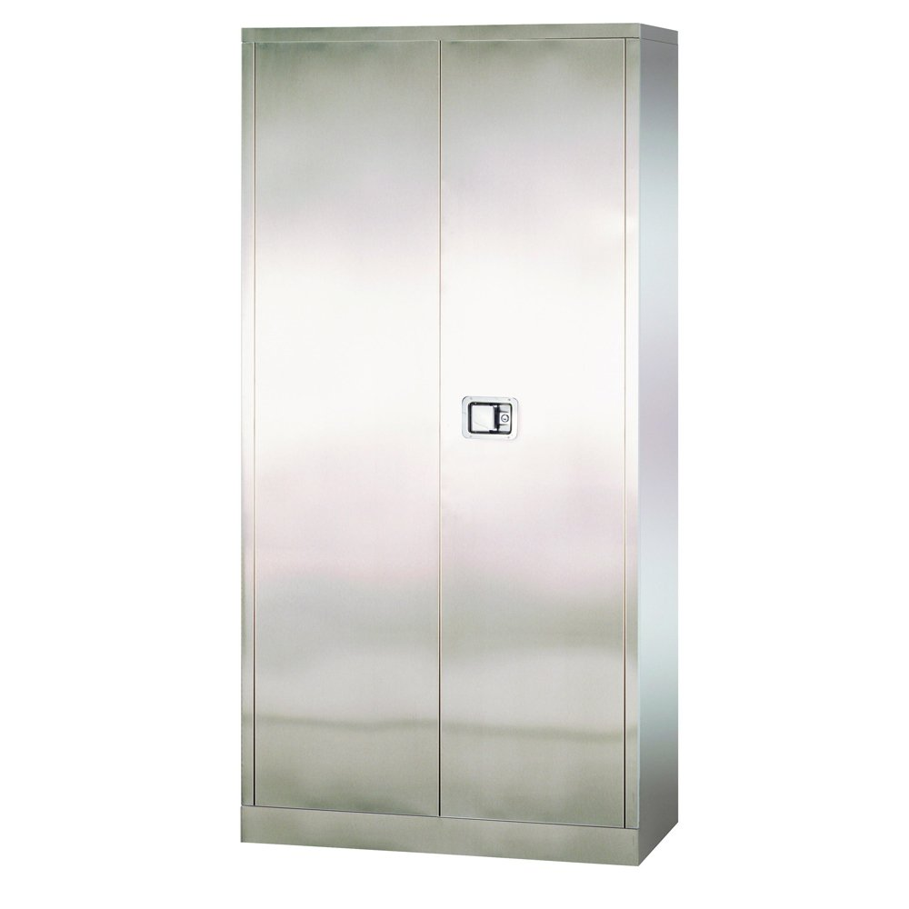 Sandusky Lee SA4D362478-XX 304 Stainless Steel Storage Cabinet with Paddle Lock, 78'' Height x 36'' Width x 24'' Depth by Sandusky (Image #2)