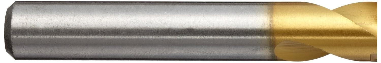 130 Degree Parabolic Spiral TiN Finish 5 Size 13//64 Diameter x 2-3//8 Length YG-1 DN515 High Speed Steel Screw Machine Drill Bit Pack of 5 Straight Shank