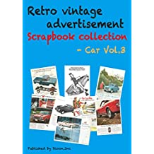 Retro vintage advertisement Scrapbook collection - Car Vol.3