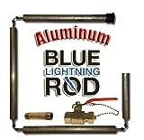 Blue Lightning Aluminum / Zinc Flexible Anode Rod, Hex Plug, with Drainage Kit