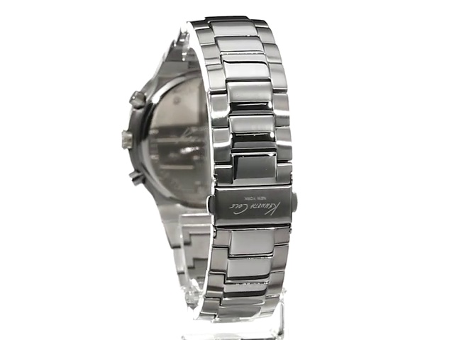 Kenneth Cole New York Men's KC9362 Sport Analog Display Japanese Quartz Silver Watch