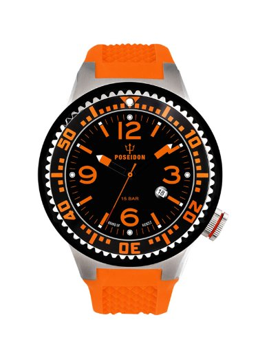 Kienzle Poseidon Men's L Slim Watch - Orange and Black