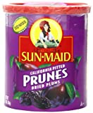 Sun Maid California Pitted Prunes, 16-Ounce Canisters (Pack of 4)