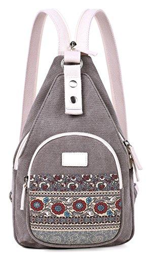 ArcEnCiel Women Sling Canvas Backpack