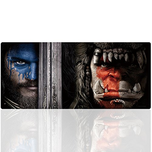 Imegny Extended Gaming Mouse Pad for Warcraft Professional Mouse Mat for PC Gamers