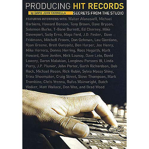 (Producing Hit Records (Secrets from the Studio) Omnibus Press Series Softcover- Pack of 2)