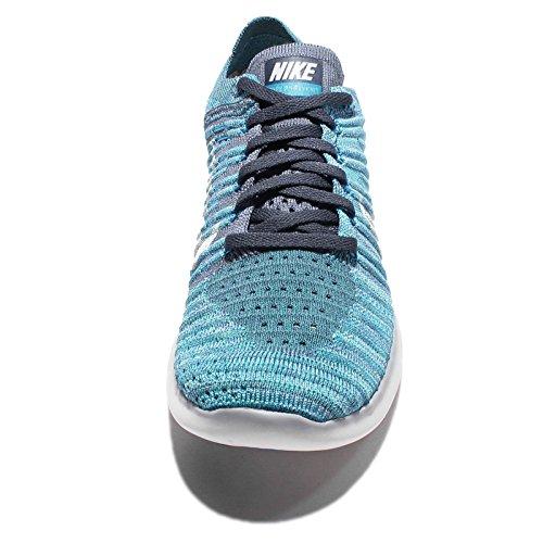 Wmns Corsa Ocean Flyknit Jade Fog hyper White blue Glow RN Donna Free Scarpe Nike da FYdSq8Yw