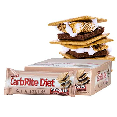 Doctor's CarbRite Diet Sugar-Free Protein Bar - S'Mores (12 Bars) by Doctor's CarbRite