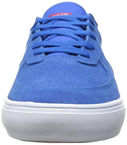 Lakai Parker Herren Skateboardschuhe Blau - Bleu (Royal Suede)