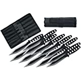 Szco Supplies Black Streak Throwing Knives Set
