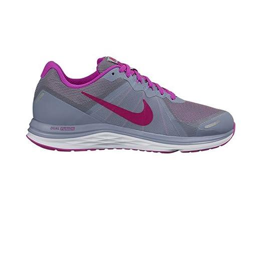 Womens Nike Dual Fusion X 2 cool blue/fuchsia,size-6.5