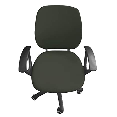 Admirable Flexible Computer Chair Cover Office Swivel Chair Cover Protective Stretchable Universal Chair Covers Stretch Rotating Chair Slipcover Army Green Creativecarmelina Interior Chair Design Creativecarmelinacom