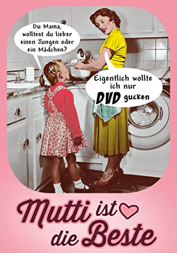 Mutti ist die Beste (German Edition) (Vintage Retro Frauen)
