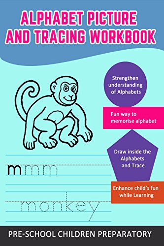 Printable Activity Books For Children - Alphabet Tracing Workbook: Tracing Upper Case and Lower Case (Preschool Worksheets Book 14)