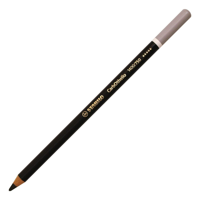 Stabilo CarbOthello Pastel Pencil, Neutral Black