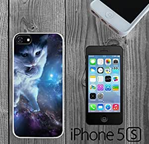 Cool Kitty In Space Cat Custom made Case/Cover/skin FOR iPhone 5/5s