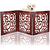 Safety Pet Gate for Dogs – Free-Standing & Foldable...