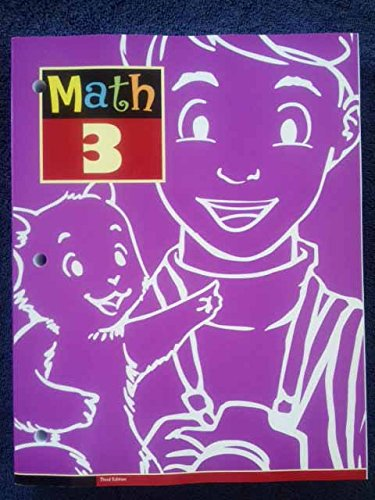 - Math 3 Student Text 3rd Edition: 3rd Grade