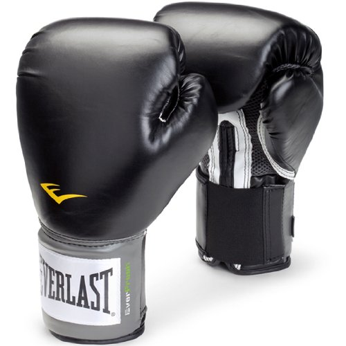 Everlast Boxing Pro Style Training Gloves-black-bag Heavy Mma Sparring Size 16 Oz Fast Shipping and Ship Worldwide by Everlast
