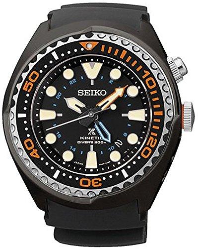 [セイコー] SEIKO プロスペックス PROSPEX キネティック KINETIC ダイバーズ DIVER`S GMT 200M防水 SUN023P1 メンズ 海外モデルの商品画像