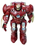 PRiQ - Hulkbuster Iron Man Action Hero Vignette Statue Moving Toy With Lights And Sound