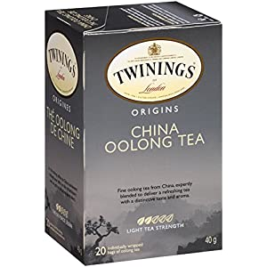 Twinings Black Tea, China Oolong, 20 Count Bagged Tea (6 Pack)