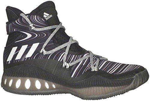 Zapatillas De Baloncesto Adidas Sm Crazy Explosive Para Hombre Cblack, Ftwwht, Cblack