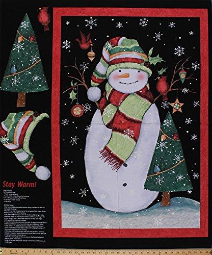 Snowman Panel - 3