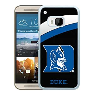 For HTC ONE M9,NCAA Atlantic Coast Conference ACC Footballl Duke Blue Devils 2 White Protective Case For HTC ONE M9