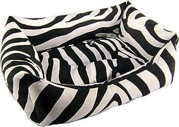 iOn Cama Cuna para Perro Y Gato 70x55 Zebra: Amazon.es: Productos para mascotas