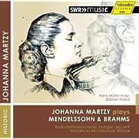 Johanna Martzy Plays Mendelssohn & Brahms