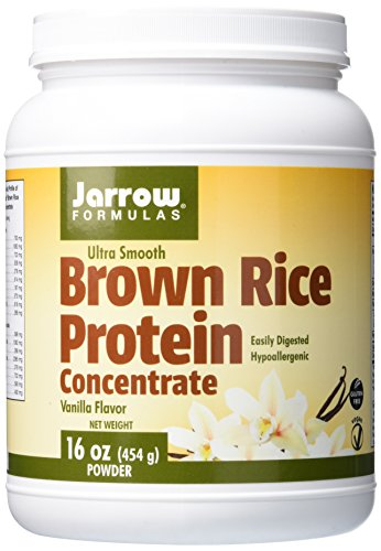 Jarrow Formulas Ultra Smooth Brown Rice Protein, Assists in Sports Nutrition, Vanilla, 1.3 Pound (Brown Rice Protein Concentrate compare prices)