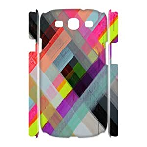 Colorful Stripes Design Customized 3D Cover Case for Samsung Galaxy S3 I9300,custom phone case ygtg603109 by mcsharks