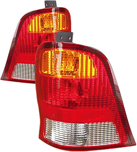 For 1999 2000 2001 2002 2003 Ford Windstar Rear Tail Light Taillamp Pair Set Replacement