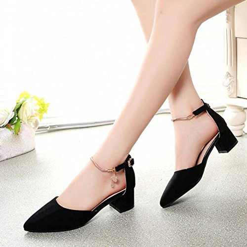 de Wedge Platform Sandales Chaussures Noir hauts Fulltime®Femmes Talons mariage Summer txqaaZF0