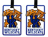 Kentucky Wildcats - NCAA Soft Luggage Bag Tag - Set of 2