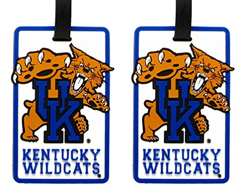 Kentucky Wildcats - NCAA Soft Luggage Bag Tag - Set of 2 by NCAA