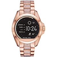 Micheal Kors Women's 'Bradshaw' Quartz Stainless Steel Casual Watch, Color:Rose Gold-Toned (Model: MKT5018)