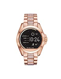 Kors Access Women's MKT5018 Bradshaw Digital Display Quartz Rose Gold Watch