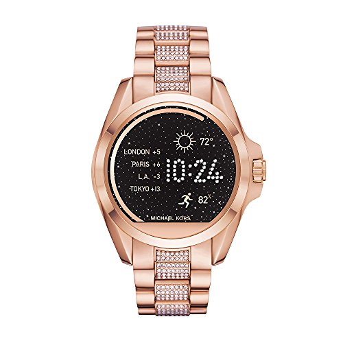 Michael Kors Access, Women's Smartwatch, Bradshaw Rose Gold-Tone Stainless Steel, MKT5018