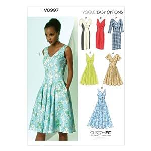 Vogue Patterns V8997 E5 - Patrones de costura para