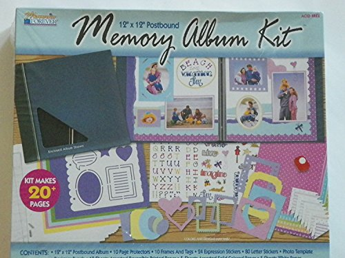 The Complete Scrapbook Kit 12 Inch x12 Inch Postbound Memory Album