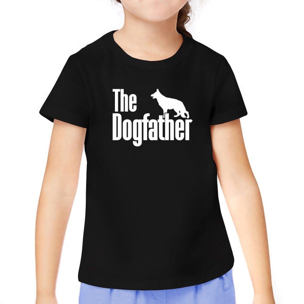Teeburon The dogfather German Shepherd Girl T-Shirt TEE03093758I7A5570000