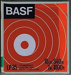 BASF LP 35 Long Play Tape 18cm/540m 7in./1800ft.