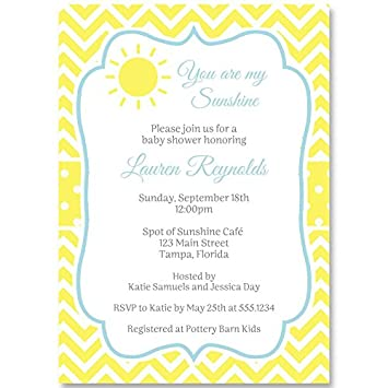 Amazon baby shower invitations you are my sunshine blue baby shower invitations you are my sunshine blue boys sun ray filmwisefo