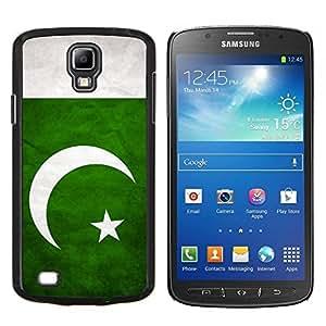 YiPhone /// Prima de resorte delgada de la cubierta del caso de Shell Armor - Nacional bandera de la nación País Pakistán - Samsung Galaxy S4 Active i9295