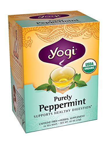 Golden Root Blend (Yogi Purely Peppermint Tea, 16 Tea Bags, 0.85oz (Pack of)