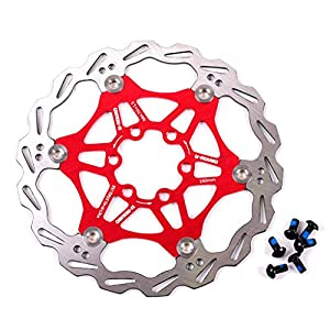 160mm 180mm 203mm Disc Brake Rotor with 6 Bolts Stainless