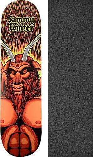 セクション貧しい大陸Cliche Skateboards Sammy冬SatanスケートボードDeck – 8.25