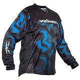 Valken Crusade RIOT Paintball Jersey, Blue, X-Large